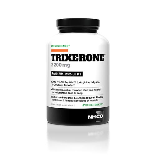 TRIXERONE™ est un complément alimentaire de la performance masculine. Complément avec ZMA, Tribulus, arginine et Ginseng – testostérone homme performances.